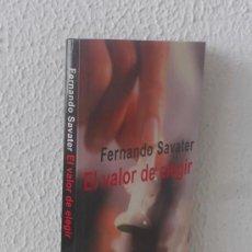 Libros de segunda mano: EL VALOR DE ELEGIR - FERNANDO SAVATER. Lote 37875098