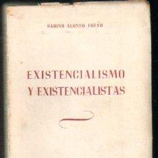 Libros de segunda mano: EXISTENCIALISMO Y EXISTENCIALISTAS A-FIL-638. Lote 38984947
