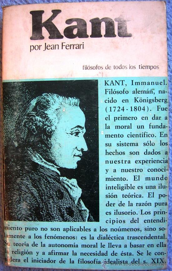 KANT O LA INVENCION DEL HOMBRE - JEAN FERRARI - EDAF EN 1981. (Libros de Segunda Mano - Pensamiento - Filosofía)