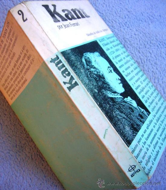 Libros de segunda mano: KANT O LA INVENCION DEL HOMBRE - JEAN FERRARI - EDAF EN 1981. - Foto 3 - 39040892