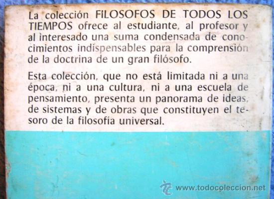 Libros de segunda mano: KANT O LA INVENCION DEL HOMBRE - JEAN FERRARI - EDAF EN 1981. - Foto 4 - 39040892