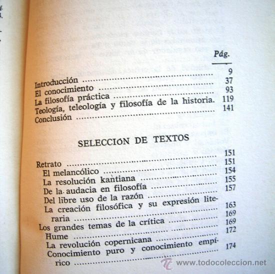 Libros de segunda mano: KANT O LA INVENCION DEL HOMBRE - JEAN FERRARI - EDAF EN 1981. - Foto 6 - 39040892