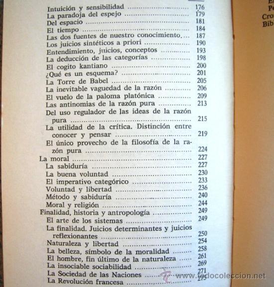 Libros de segunda mano: KANT O LA INVENCION DEL HOMBRE - JEAN FERRARI - EDAF EN 1981. - Foto 7 - 39040892