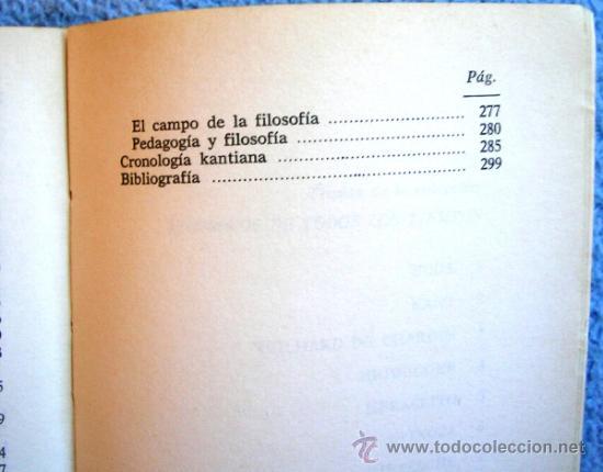 Libros de segunda mano: KANT O LA INVENCION DEL HOMBRE - JEAN FERRARI - EDAF EN 1981. - Foto 8 - 39040892