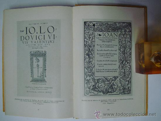 FILOSOFIA ESPAÑOLA DE LUIS VIVES. M.PUIGDOLLERS OLIVER. ED. LABOR 1940. ILUSTRADO (Libros de Segunda Mano - Pensamiento - Filosofía)