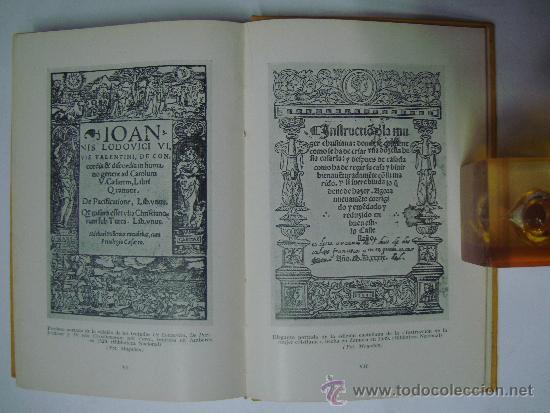 Libros de segunda mano: FILOSOFIA ESPAÑOLA DE LUIS VIVES. M.PUIGDOLLERS OLIVER. ED. LABOR 1940. ILUSTRADO - Foto 2 - 39140765