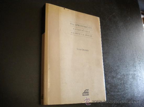 UNA APROXIMACIÓN NATURALISTA A LA MENTE Y AL LENGUAJE / CHOMSKY, NOAM (Libros de Segunda Mano - Pensamiento - Filosofía)