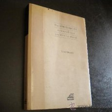 Libros de segunda mano: UNA APROXIMACIÓN NATURALISTA A LA MENTE Y AL LENGUAJE / CHOMSKY, NOAM. Lote 39173723