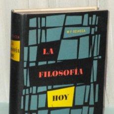 Libros de segunda mano: LA FILOSOFÍA,HOY.DE LOS ORÍGENES ROMANTICOS DE LA FILOSOFIA CONTEMPORANEA HAS LOS PROBLEMAS ACTUALES. Lote 39884910