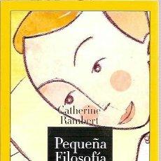 Libros de segunda mano: PEQUEÑA FILOSOFIA MATINAL 365 PENSAMIENTOS POSITIVOS PARA SER FELIZ TODOS LOS DIAS HF. Lote 122406306