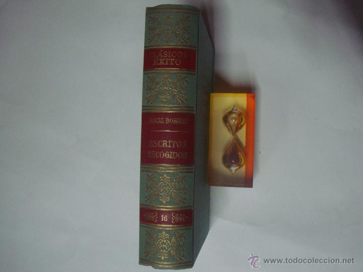 Libros de segunda mano: PASCAL Y BOSSUET. ESCRITOS ESCOGIDOS. ED. EXITO 1962.1A EDICIÓN. - Foto 2 - 41260520