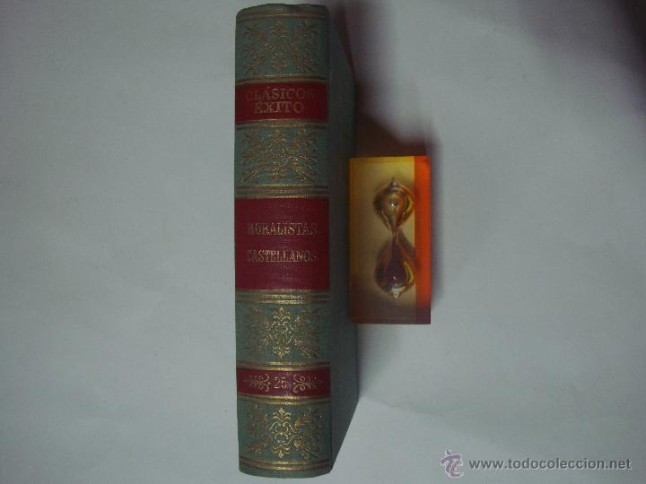 Libros de segunda mano: MORALISTAS CASTELLANOS.GUEVARA.VALDES.VIVES.SAAVEDRA.FAJARDO.GRACIAN. ED.EXITO 1962 - Foto 2 - 41261183