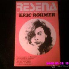Libros de segunda mano: RESEÑA, ERIC ROHMER ABRIL 1974. Lote 41532289