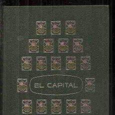 Libros de segunda mano: CAPITALISMO KARL MARX EL CAPITAL EDITORIAL EDAF TOMO I. Lote 41844172