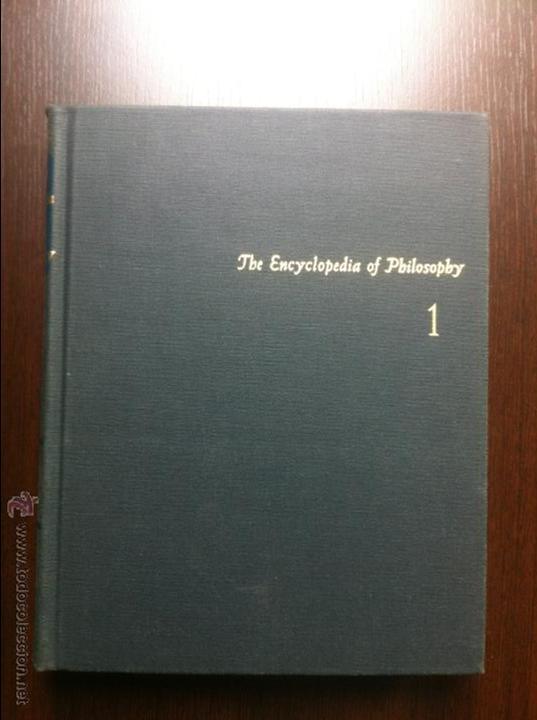 Libros de segunda mano: Important encyclopedia of philosophy.Paul edwards.Eight volumes in eight books.1967.Published USA - Foto 8 - 42271843