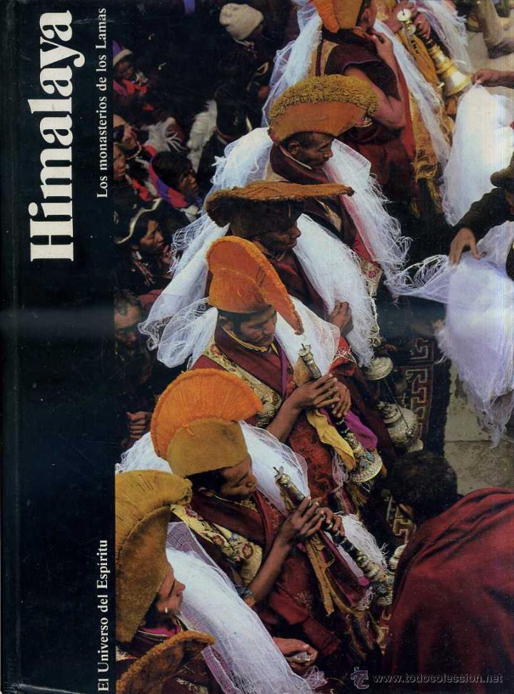 HIMALAYA, MONASTERIOS DE LOS LAMAS (UNIVERSO DEL ESPÍRITU, 1985) GRAN FORMATO, MUY ILUSTRADO (Libros de Segunda Mano - Pensamiento - Filosofía)