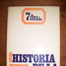 Libros de segunda mano: COPLESTON, FREDERICK. HISTORIA DE LA FILOSOFÍA. VOL. VII : DE FICHTE A NIETZSCHE. Lote 43091942