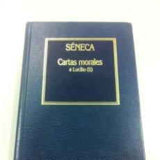 Libros de segunda mano: CARTAS MORALES A LUCIO (II) - SÉNECA - EDICIONES ORBIS - BARCELONA - 1964 -. Lote 102410615