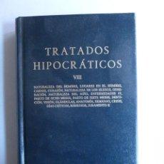 Libros de segunda mano - TRATADOS HIPOCRATAICOS. VOL VIII. CLASICA GREDOS. 2003 600 PAG - 43421148