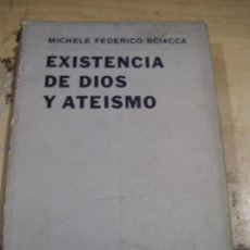 Libros de segunda mano: EXISTENCIA DE DIOS Y ATEISMO (BUENOS AIRES, 1963). Lote 43772673