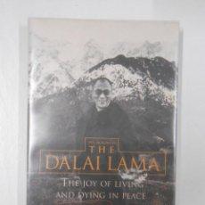 Libros de segunda mano: THE JOY OF LIVING AND DYING IN PEACE. THE DALAI LAMA. EN INGLES. TDK116. Lote 44997331