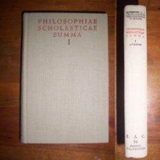 Libros de segunda mano: SALCEDO, LEOVIGILDO. PHILOSOPHIAE SCHOLASTICAE SUMMA. I: INTRODUCTIO IN PHILOSOPHIAM ; LOGICA ;.... Lote 45273700