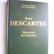 Libros de segunda mano: DISCURSO DEL MÉTODO. DESCARTES, RENÉ. 1996. Lote 46434858