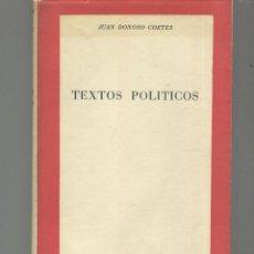 Libros de segunda mano - TEXTOS POLITICOS.Colección Biblioteca del Pensamiento Actual Autor: Donoso Cortés, Juan - 46726639