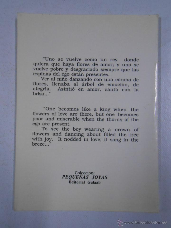 Libros de segunda mano: EL ARBOL DEL AMOR. THE TREE OF LOVE. BHAGWAN SHREE RAJNEESH. TDK216 - Foto 2 - 46894330