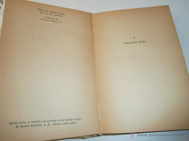 Libros de segunda mano: La muerte de Socrates Romano Guardini Emece 1960 - Foto 6 - 47003494