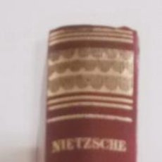 Libros de segunda mano: NIETZSCHE. OBRAS ESTELARES. RM68143. . Lote 47702656