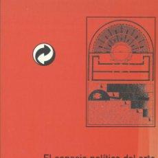 Libros de segunda mano: JOSE LUIS MOLINUEVO, EL ESPACIO POLÍTICO DEL ARTE. ARTE E HISTORIA EN HEIDEGGER, . Lote 47743344