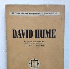 Libros de segunda mano: DAVID HUME . Lote 47861517