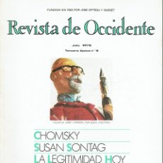 Libros de segunda mano - Revista de Occidente 9. Julio 1976 - 48110413