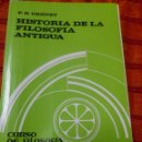 Libros de segunda mano: HISTORIA DE LA FILOSOFIA ANTIGUA. P.B. GRENET. CURSO DE FILOSOFÍA TOMISTA. HERDER. Lote 165602510