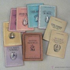 Libros de segunda mano: SISTEMAS FILOSOFICOS - VII COLECCION UNIVERSO, EDICIONES ESPAÑA - CAJA COMPLETA CON 20 LIBRITOS. Lote 50126380