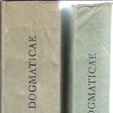 Libros de segunda mano: INSTITUTIONES THEOLOGIAE DOGMATICAE, LUDOVICO LERCHER, DOS VOLÚMENES, LEER, HERDER BCN 1948, RÚSTICA. Lote 51301357