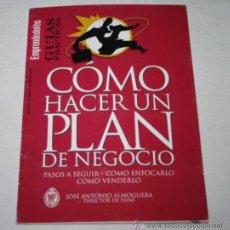 Libros de segunda mano: COMO HACER UN PLAN DE NEGOCIO, JOSE ANTONIO ALMOGUERA, EMPRENDEDORES GUIAS PRACTICAS. Lote 51608934