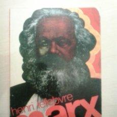 Libros de segunda mano: MARX. HENRI LEFEBVRE. GUADARRAMA. 1974.. Lote 52152683