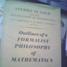 Libros de segunda mano: STUDIES IN LOGIC HASKELL B. CURRY 1951. Lote 52288608