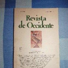 Libros de segunda mano: REVISTA DE OCCIDENTE Nº 89. OCTUBRE 1988. INGLATERRA: CENTENARIO DE T.S. ELIOT. Lote 52389638