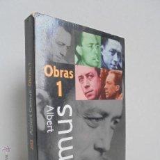 Livres d'occasion: ALBERT CAMUS. OBRAS COMPLETAS I. EDITA ALIANZA TRES 1996. VER FOTOGRAFIAS ADJUNTAS.. Lote 52620474