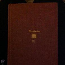 Libros de segunda mano: BREVARIOS DEL FONDO DE CULTURA ECONÓMICO. EL LIBERALISMO EUROPEO. HAROLD J.LASKI.. Lote 46006879
