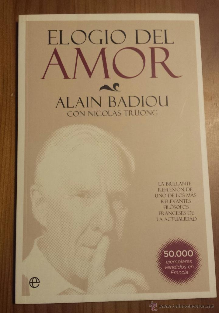 elogio del amor de alain badiou