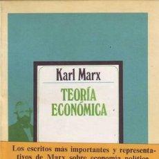 Libros de segunda mano: MARX, KARL: TEORIA ECONOMICA. Lote 53306962