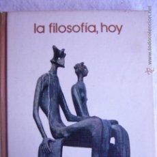 Libros de segunda mano: LA FILOSOFÍA, HOY BIBLIOTECA SALVAT DE GRANDE TEMAS 75. Lote 54147471