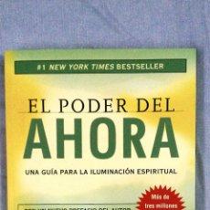 Libros de segunda mano: EL PODER DEL AHORA. Lote 54574460