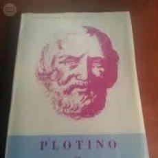 Libros de segunda mano: MAYNADE, JOSEFINA: PLOTINO Y LA ESCUELA DE ALEJANDRÍA (MÉXICO, 1970). SEGUNDA EDICIÓN REVISADA.. Lote 53403415