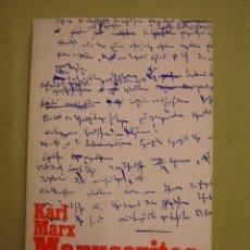 Libros de segunda mano: MANUSCRITOS : ECONOMÍA Y FILOSOFÍA - KARL MARX. Lote 167660665
