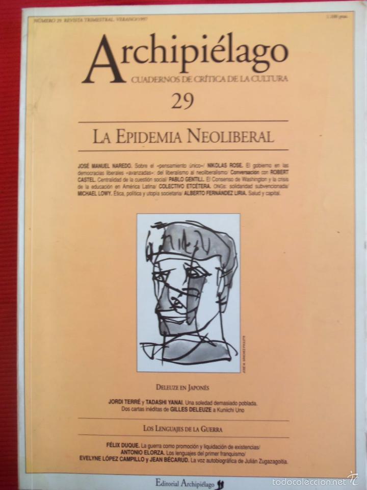 archipielago-29-la epidemia neoliberal - Comprar Libros de filosofía ...